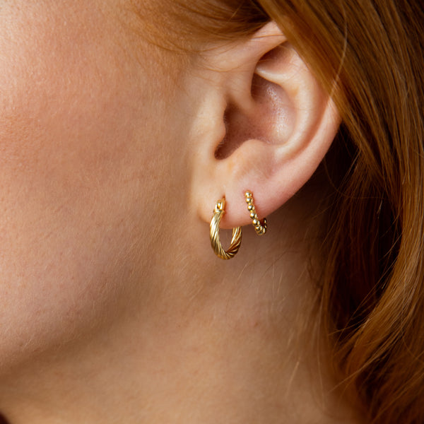 Earrings Marina gold