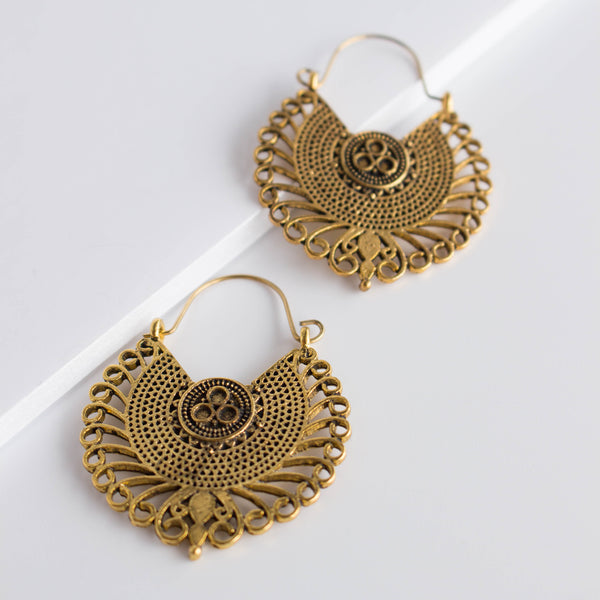 Earrings Inca