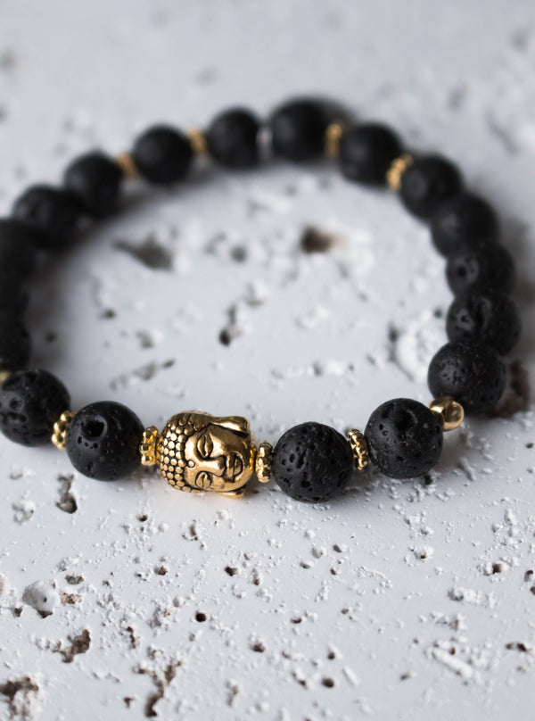 Bracelet Gold Karma Thinker