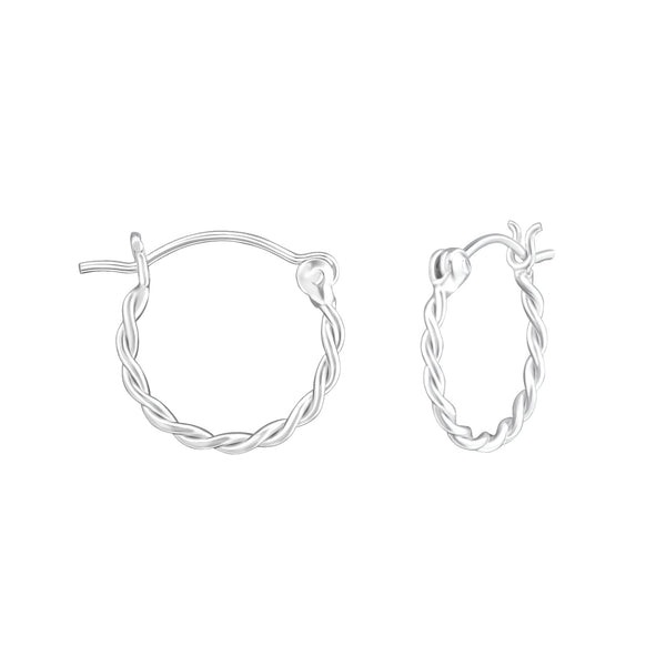 Earrings Rina Hoop * Sterling
