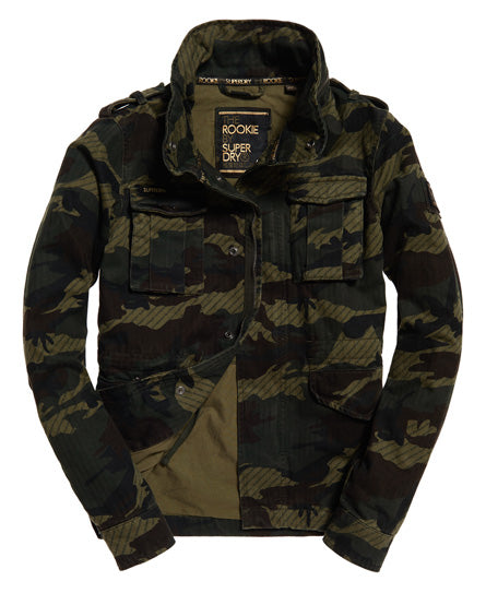 Jade Rookie 4 Pocket Jacket - Green
