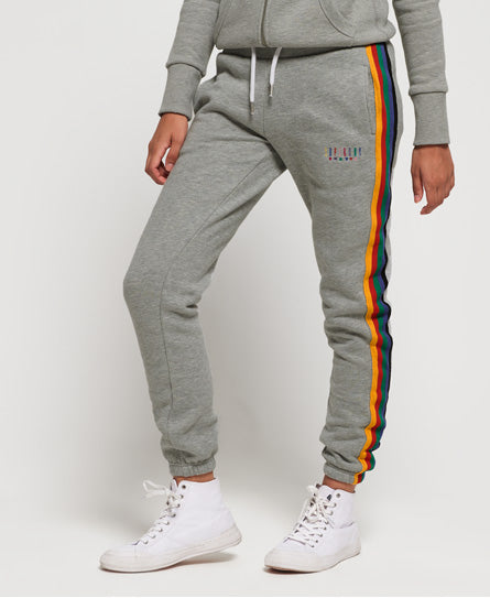 Carly Carnival Joggers - Grey - Superdry.sg