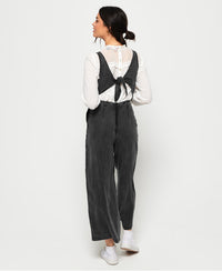 Ingrid Culotte Jumpsuit - Dark Grey