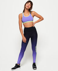 Core Essential Leggings - Purple - Superdry.sg