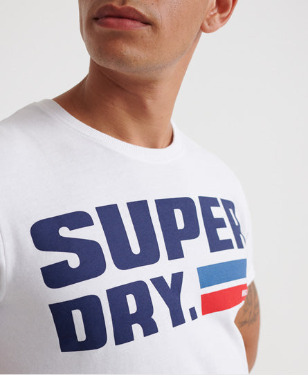NYC T-Shirt - White - Superdry.sg