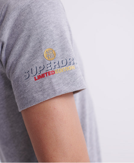 CNY T-shirt - Grey - Superdry.sg