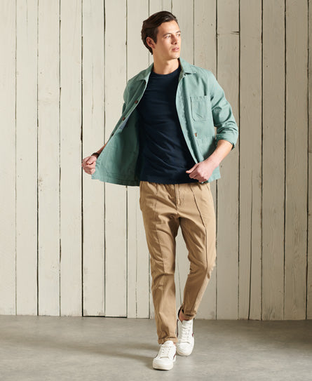 Orange Label Vintage Embroidery T-Shirt - Navy - Superdry.sg