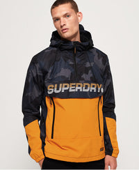 Core Overhead Cagoule - Navy - Superdry.sg