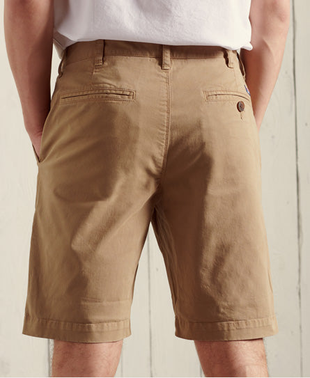 International Chino Shorts - Brown - Superdry.sg