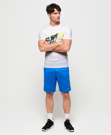 Active Graphic Tee - White - Superdry.sg