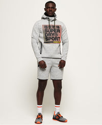 Core Gym Tech Strtch Grphc Overhead - Light Grey - Superdry.sg