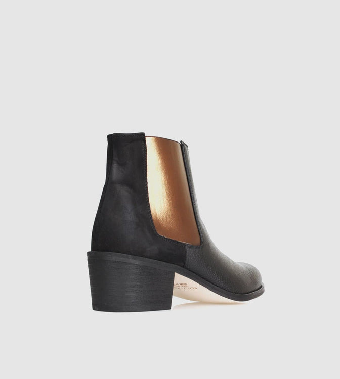 Jerry Basket Ankle Boots