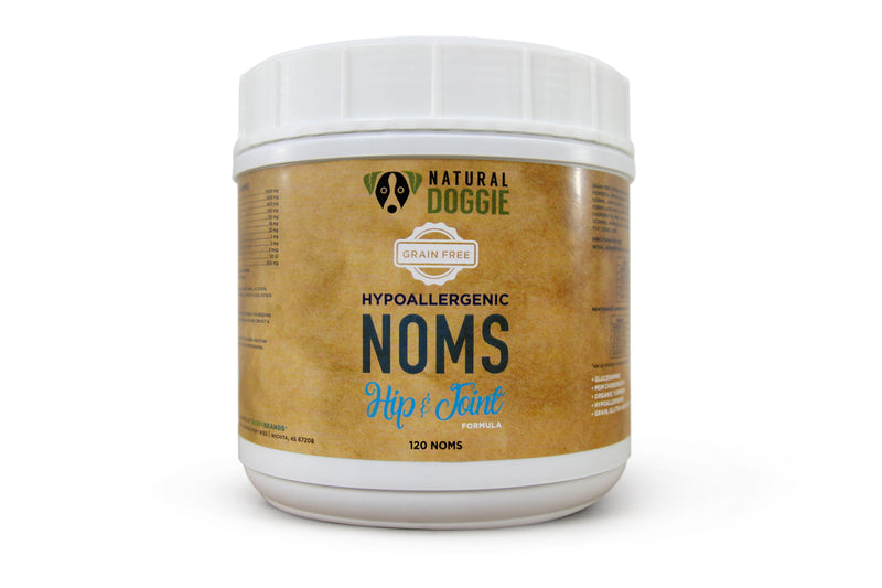grain free hypoallergenic dog noms hip and joint formula