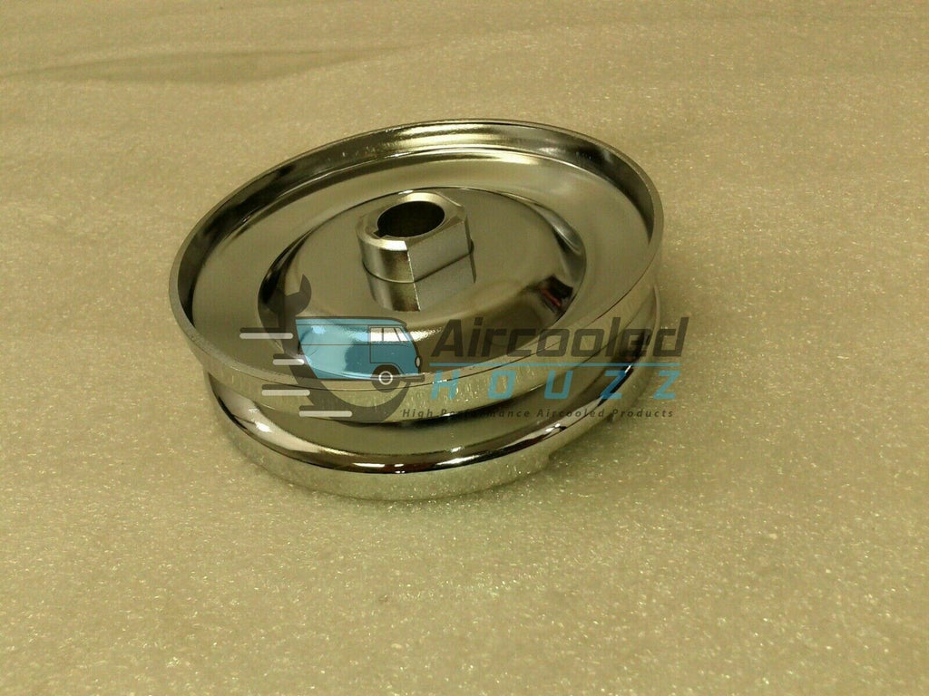 VW BUG, Beetle Or Ghia Chrome 12/6-Volt Alt / Gen Pulley