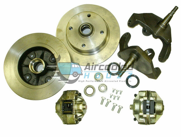 "EMPI Ball Joint 4/130 Front 2 1/2"" Drop Spindle Disc Brake Kits"