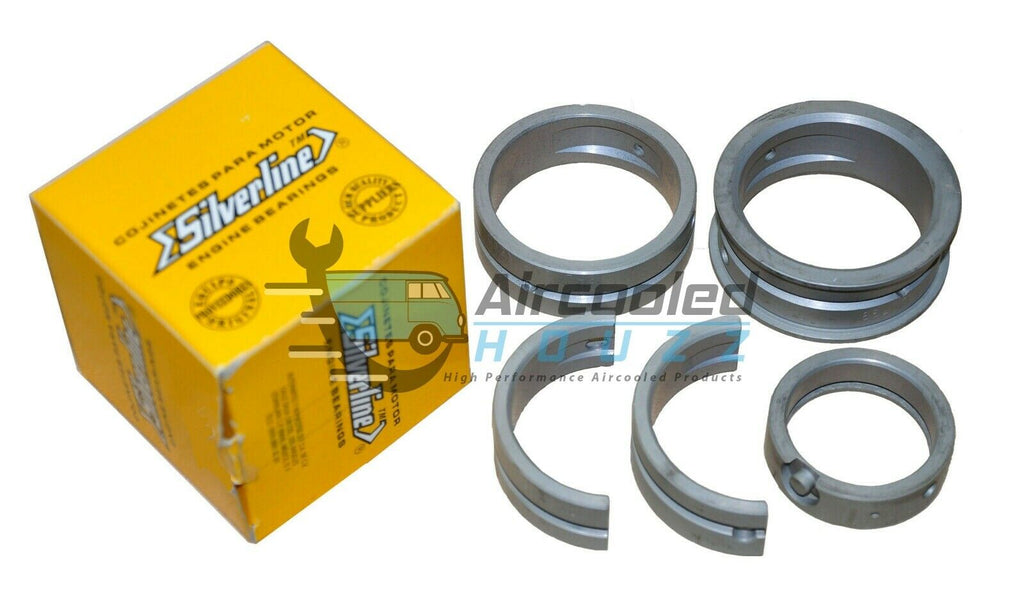 VW Type 1,2,3 .STD/.020 Steel Back Main Bearings