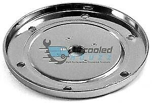 VW TYPE 1, 2 & 3 Chrome Sump Plate With Magnetic Drain Plug