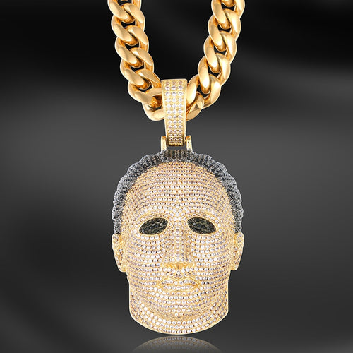 Iced Michael Myers Pendant - Different Drips