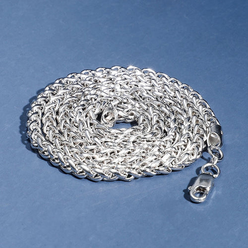 Solid 925 Sterling Silver Franco Chain - Different Drips