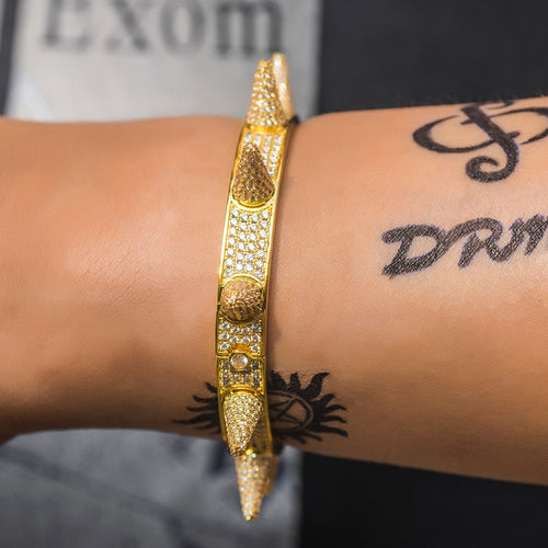 Premium Iced Out Spiked Bracelet - Different Drips