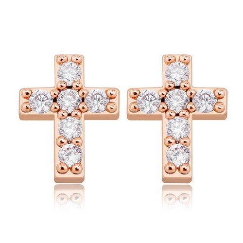 925 Sterling Silver Cross Earrings - Different Drips