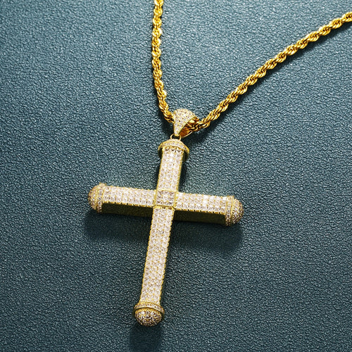 Big Pico Harvey Cross Pendant - Different Drips
