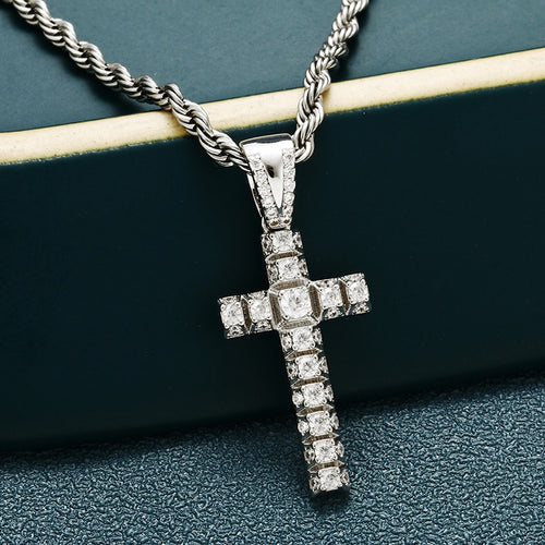 Small Pico Harvey Cross Pendant - Different Drips