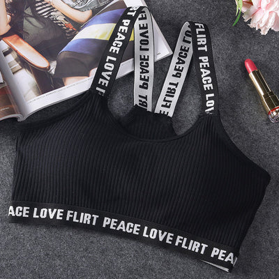 Peace Love Sports Bra