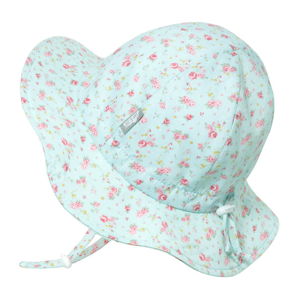 JAN & JUL GRO-WITH-ME 50+ UPF SunHat -Retro Rose