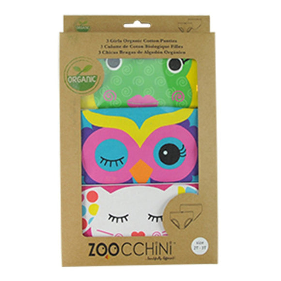 Zoocchini Organic Girls Calypso Multi 3 Pack