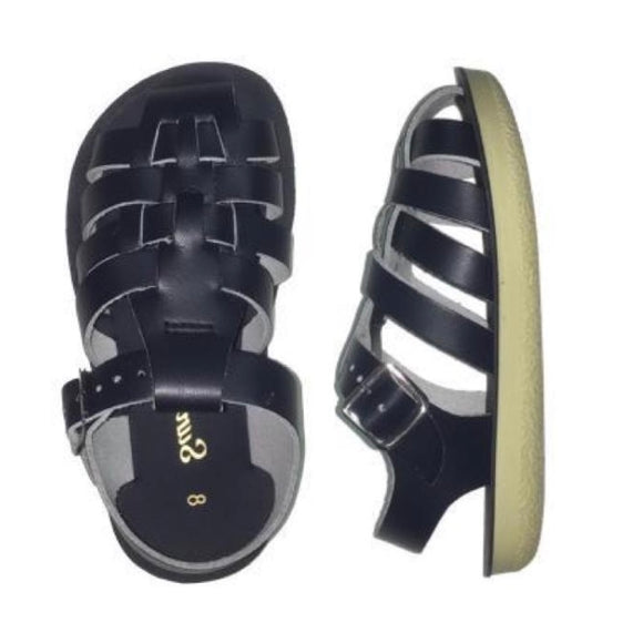 Salt Water Sandals - Sailor Toddler Navy