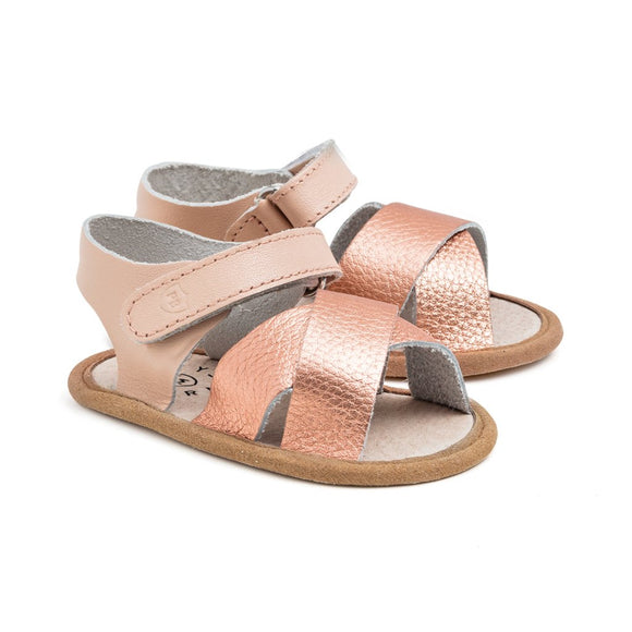 Pretty Brave Rose Gold Sandal