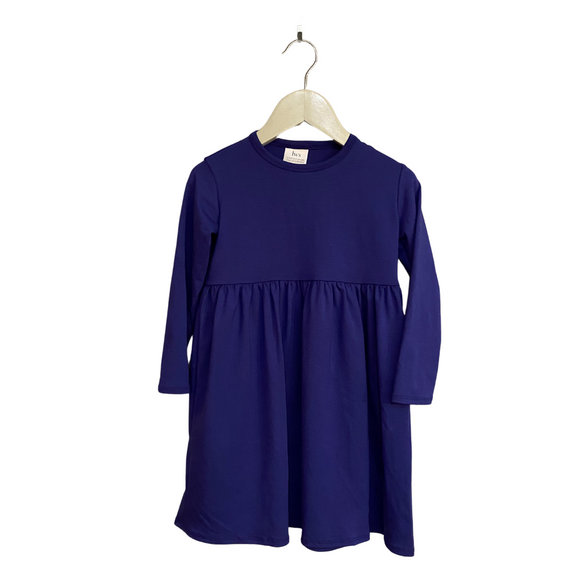 LWS Bamboo Dress - Indigo