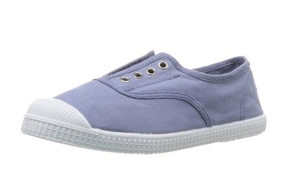 Cienta Slip-on Sneakers - blue/grey