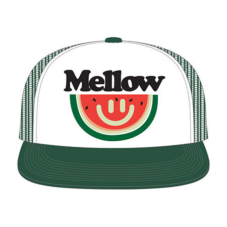 BASEBALL HAT (PREFRESH MELLOW) (WHITE GREEN)