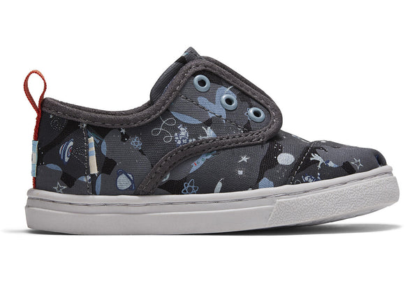 Toms Black Alien Space Cordones