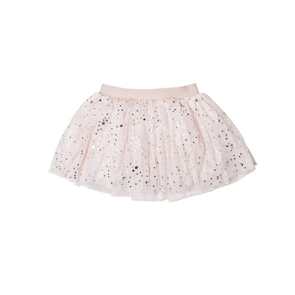 HuxBaby Gold Star Tulle Skirt