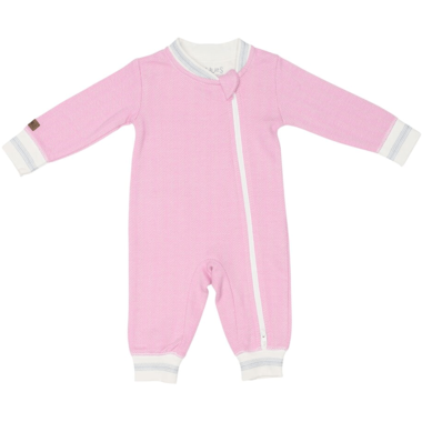 Juddlies Organic Cottage Playsuit - Sunset Pink