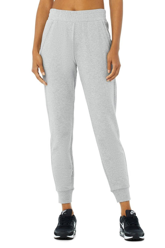 Women's Alo Yoga Unwind Sweatpant - Dove Grey Heather