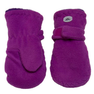 Calikids Fleece Mittens - violet
