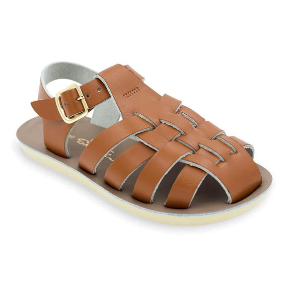 Salt Water Sandals - Sailor Toddler Tan