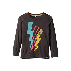 Appaman Lightning Bolt Tee - Vintage Black