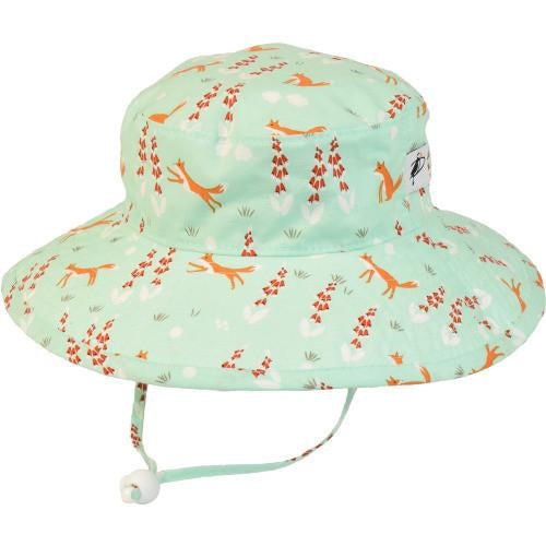 Puffin Gear Sunbaby Hat - SECRET GARDEN- FOXGLOVE