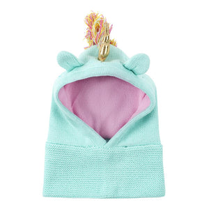 Zoocchini Knit Balaclava Hat - Allie the Unicorn
