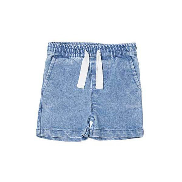Hux Baby Denim Relaxed Shorts