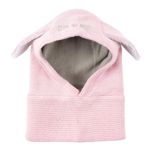 Zoocchini Knit Balaclava Hat - Beatrice the Bunny