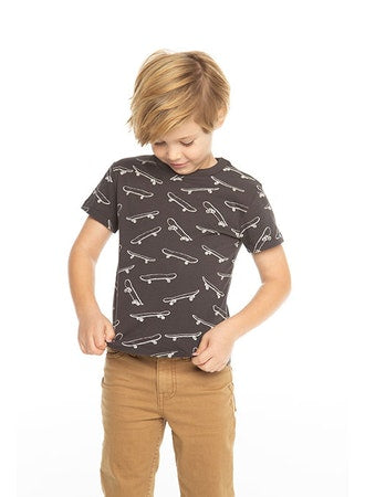 Boys Cotton Jersey Short Sleeve Crew Neck Tee