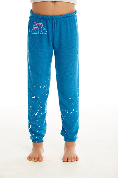 GIRLS COZY KNIT HI-LO LOUNGE PANT (SHORE)
