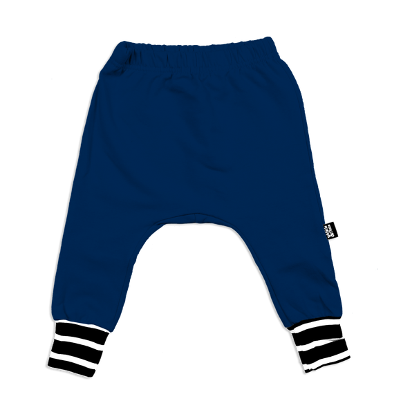 Whistle & Flute Bamboo Joggers - Navy Stripe