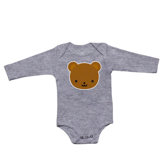 Whistle & Flute Kawaii Bear Long Sleeve Bodysuit